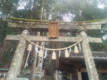 Satomiya Shrine's inner gate