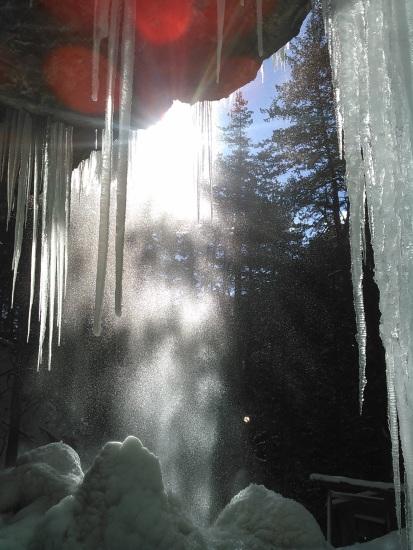 Behind Shintaki in winter By Shizuka Oyama Gladden