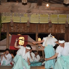 The sword dance...for obvious reasons