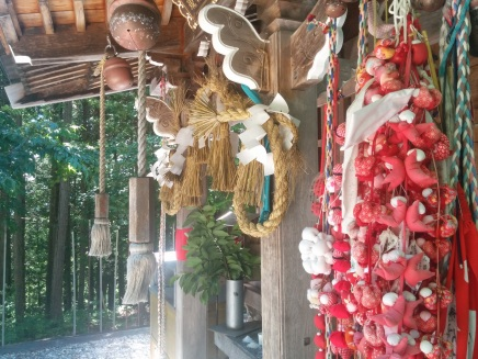 Shrine fetishes and sacred items