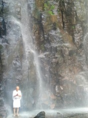 Taki-gyo at Kiyotaki: waterfall austerities