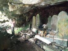 Cave behind Shintaki
