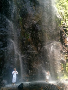 Takigyo at Kiyotaki Falls