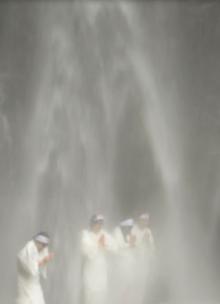 Kiyotaki Falls: austerities by the faithful